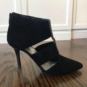 Women's Tahari suede heels